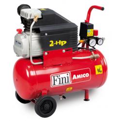 Compresor cu piston AMICO 25/2400, 24 l, 1500 W, 8 Bar Fini