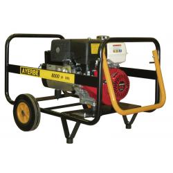 AY8000 H MN - Generator electric portabil, 8 KVA, 3000 rpm, motor Honda, marca Ayerbe