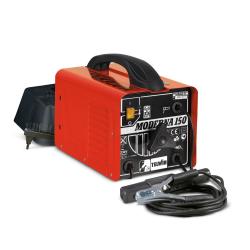 MODERNA150 - Aparat sudura de tip transformator, 140 A, electrod 1.6-3.2mm, 14kg, cu accesorii, Telwin