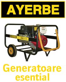 Promotia Ayerbe generatoare si motopompe Esential
