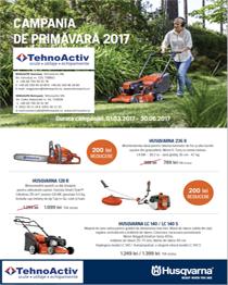 Promotie Husqvarna Primava - Vara 2017