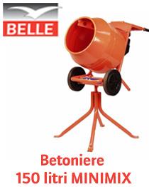 Promotie betoniere 150 litri Belle Group - Altrad Belle Minimix
