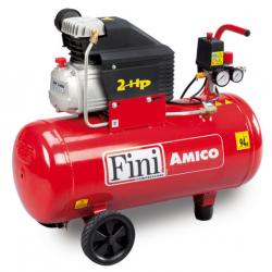 Compresor cu piston, cu ulei AMICO 50/2400, 50 litri, 1500 W, Fini