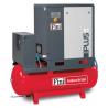 PLUS 8-10-500 - Compresor cu surub si butelie 500 litri, 1000 l/min, 10 bar Fini