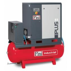 PLUS8-10-500ES - Compresor cu surub cu butelie 500 litri si uscator aer 1000 l/min, 10 bar