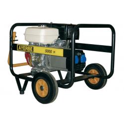 AY 5000H MN - Generator electric portabil, 5 KVA, 3.000 rpm, motor Honda, marca Ayerbe