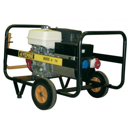 AY8000 H TX - Generator electric trifazat, 8 KVA, 3000 rpm, motor Honda, marca Ayerbe