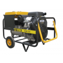 Generator electric portabil trifazat sudura 10 KVA, motor Vanguard, Ayerbe AY340 CC V TX