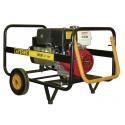 Generator electric portabil monofazat, 8 KVA, 3000 rpm, motor Honda, marca Ayerbe - AY8000 H MN / AE cu automatizare