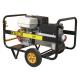 Generator electric trifazat portabil pt. sudura, 6.5 KVA, motor Honda, Ayerbe AY255 CC H TX