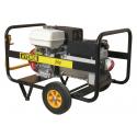 Generator electric trifazat portabil sudura, 6.5 KVA, motor Honda, Ayerbe AY255 CC H TX