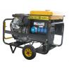 Generator electric portabil monofazat AY19000 V MN E, 19 KVA, 3.000 rpm, motor Vanguard, Ayerbe