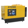 Generator electric stationar monofazat insonorizat AY8000 H MN INS E, 8 KVA, 3.000 rpm, motor GX390, Ayerbe