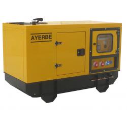 AY 1500-20 LOMB TX AE - Generator stationar cu automatizare, insonorizat, 20 KVA, motor Lombardini, marca Ayerbe