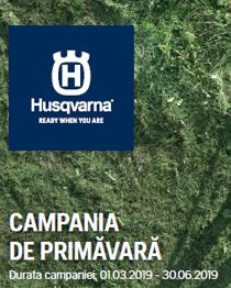 Promotia primavara Husqvarna 2019