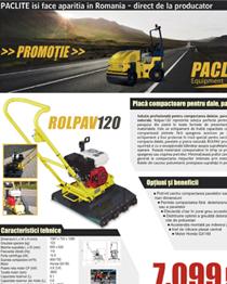 Promotie placa pavele Paclite Rolpav120